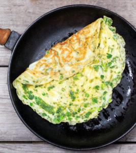 hemp recipes omelet